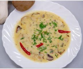 Zupa z Eryngii na ostro